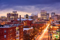 Richmond, Virginia Royalty Free Stock Photo