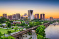 Richmond, Virginia, USA Skyline Royalty Free Stock Photo