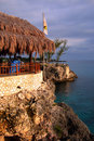 Rick's Caf鬠negril, Jamaica Royalty Free Stock Photo