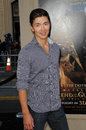 Rick yune at the legend of the guardians world premiere chinese theatre hollywood ca Stock Image