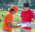 Rickie Fowler at the 2011 US Open Royalty Free Stock Image