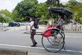 Rickshaw, Japanese transport Stock Image