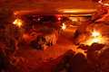 Rickwood caverns in alabama large cavern at state park Stock Photos