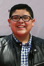 Rico rodriguez new york apr actor attends the world premiere of paul blart mall cop at amc loews lincoln square on april in new Royalty Free Stock Photo