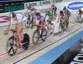 Ricos 2011 del ¼ de las De seis días-Noches ZÃ del desafío de la bici de Ndoor Fotografía de archivo