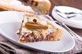 Ricotta cheese crostata. Royalty Free Stock Photo