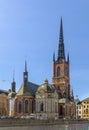 Riddarholm Church, Stockholm Royalty Free Stock Photo