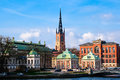 Riddarholmen Church Stockholm Stock Images