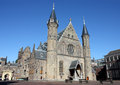 Ridderzaal binnenhof den haag netherlands old knight hall Royalty Free Stock Images
