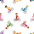Ride a bike seamless