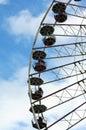Ride Ferris Wheel Royalty Free Stock Photo