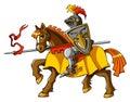 Rider knight Royalty Free Stock Photo