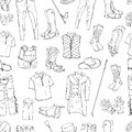 Rider outfit pattern contour