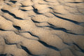 Ridges of sand Royalty Free Stock Photography