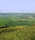 The ridgeway path Stock Image