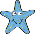 Ridiculous starfish Royalty Free Stock Image