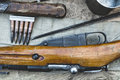 Rifle And Cartridges With Shal...