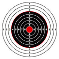 Rifle target Stock Photos