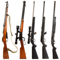 Rifles Royalty Free Stock Photo