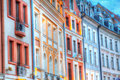 Riga latvia city center colorful architecture Stock Photography