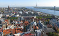 Riga panorama Stock Photography