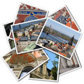 Riga postcards Royalty Free Stock Photo