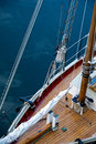 Rigging From Above On A Schooner