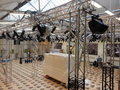 Rigging event lights sound Royalty Free Stock Photos