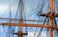The rigging Royalty Free Stock Photo