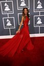 Rihanna at the th annual grammy awards staples center los angeles ca Royalty Free Stock Image
