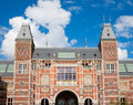 Rijksmuseum amsterdam facade of the in the netherlands Stock Photos