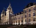 Rijksmuseum amsterdam in by night Stock Photos