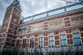 Rijksmuseum in amsterdam after re establishment netherlands Royalty Free Stock Photography