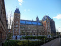 The Rijksmuseum is a Dutch national museum dedicated to arts and history in Amsterdam.