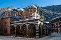 The Rila Monastery in Bulgaria Royalty Free Stock Photo