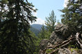 Rila mountain general view of borovets resort in bulgaria Stock Photo