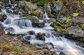 Rila waterfall Stock Image