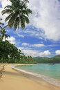 Rincon beach samana peninsula dominican republic Stock Image