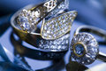 Ring & Diamond Royalty Free Stock Image