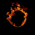 Ring of fire Royalty Free Stock Photo
