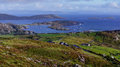 Ring of kerry overlooking valentia on the near portmagee island county ireland Stock Images
