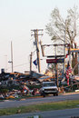 Ringgold Georgia Tornado Damage Royalty Free Stock Images
