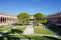 Ringling palace in Ringling art museum Royalty Free Stock Photo