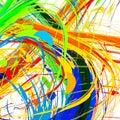 Rio abstract color
