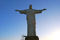 Rio Brazil looking at Christ Statue Royalty Free Stock Photos