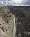 Rio Grande Gorge Royalty Free Stock Image