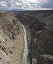 Rio Grande Gorge Royalty Free Stock Image