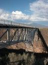 Rio Grande Gorge Bridge Royalty Free Stock Photography