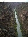 Rio Grande River-New Mexico Royalty Free Stock Photos