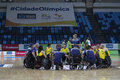 Rio 2016 - International Wheelchair Rugby Championship Royalty Free Stock Photo